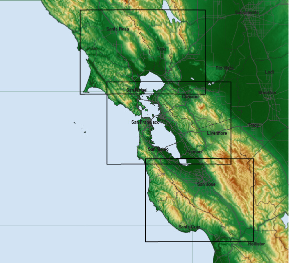 Bay Area Microclimate Forecasts
